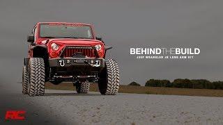 Jeep Wrangler JK Long Arm Suspension Kit - Behind The Build