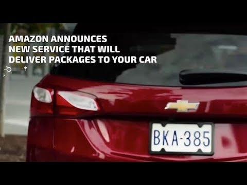 Amazon Announces New Service That Will Deliver Packages To Your Car
