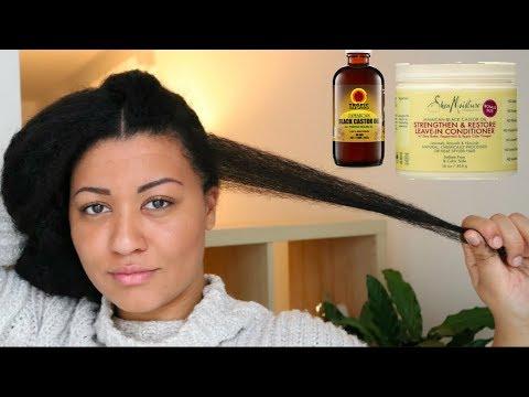 How to GROW & KEEP Long Edges on Natural Hair