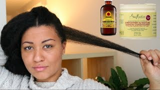 How to GROW & KEEP Long Edges on Natural Hair thumbnail
