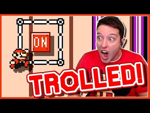 Do NOT Touch The Red Button In This TROLL Level...