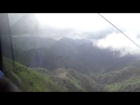 My amazing ride on the Obudu Ranch cable car. Beautiful.