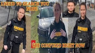 NO YOU'RE NOT SEARCHING ME OFFICER cops owned I don't answer questions first amendment audit