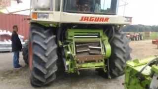 Kombajn do kukurydzy CLAAS - JAGUAR. www.traktorki.waw.pl