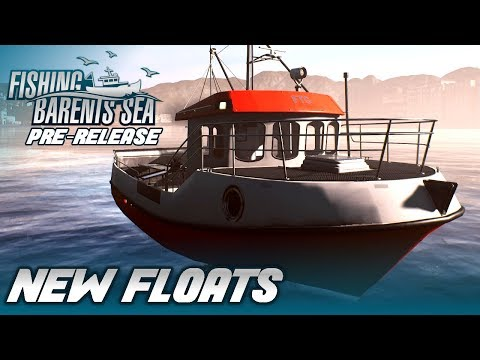 FISHING: BARENTS SEA | Net Fishing and a Brand New Set Of Floats | Pre-Release Gameplay