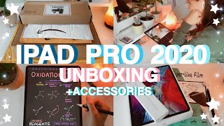 IPAD PRO 2020 UNBOXING + APPLE PENCIL 2 & ACCESSORIES (12.9 inch) | Tayla Marra