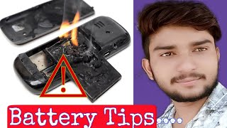 Battery Tips//How To Use Mobile Battery Long Time || How To Solve Battery Draining Problem