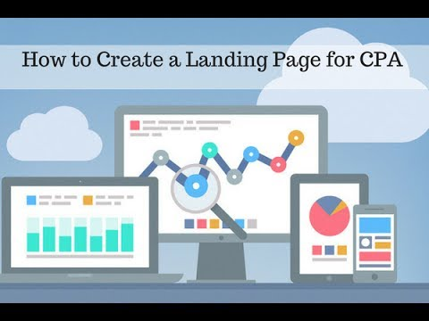Dating cpa landing page