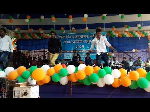Jhargram raj college program 2017
