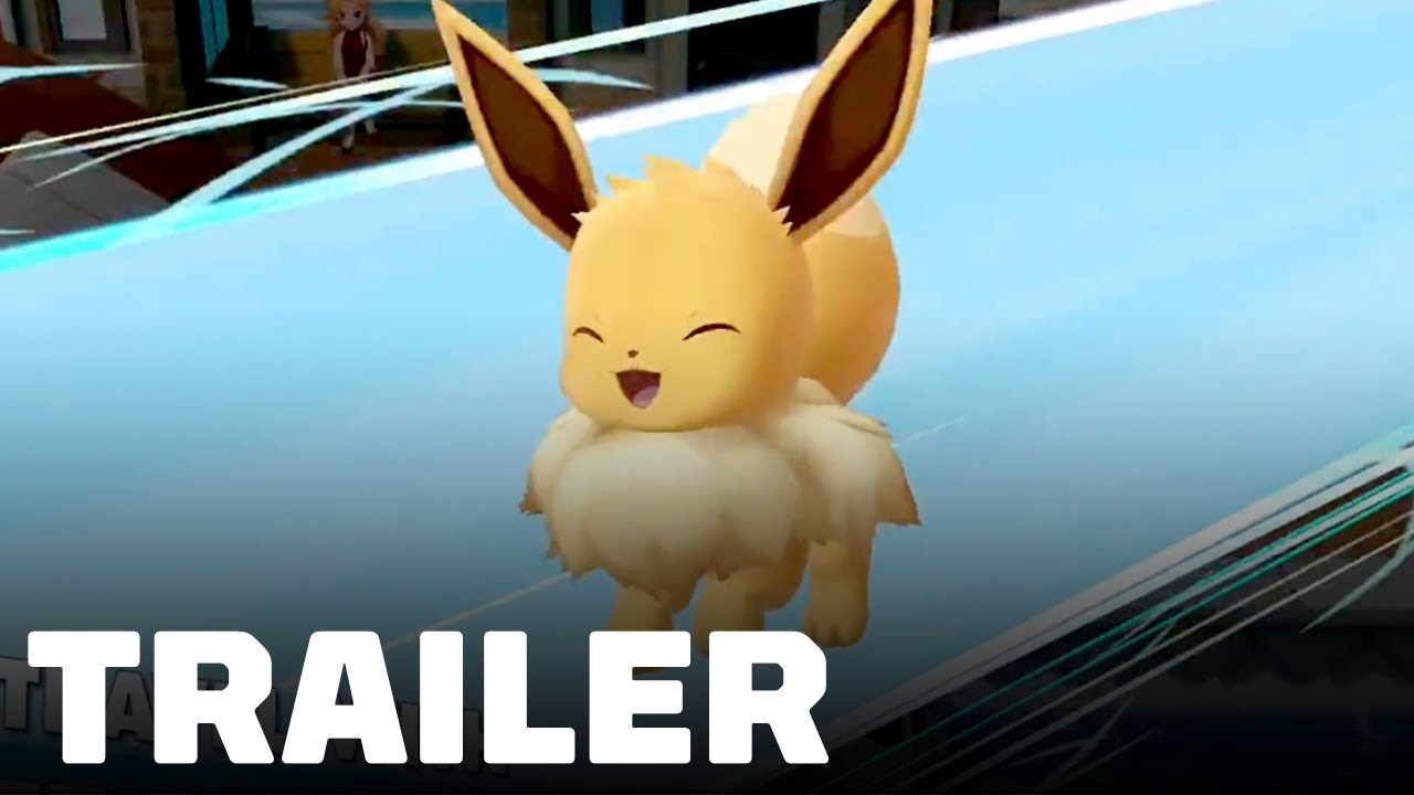Pokemon Lets Go Pikachu Eevee New Features Moves Trailer Tgs