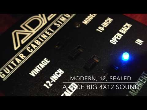 ADA GCS-2 and the ISP Theta Preamp and Carl Martin Chorus XII