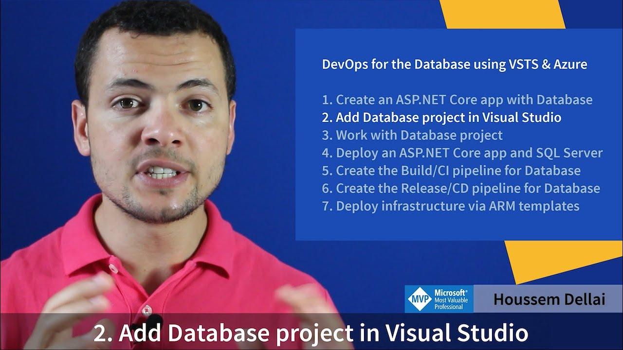 Add Database project in Visual Studio