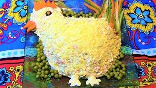 Салат оливье  ./ Вкусные салаты. / Салат с курицей. /Новогодние салаты.