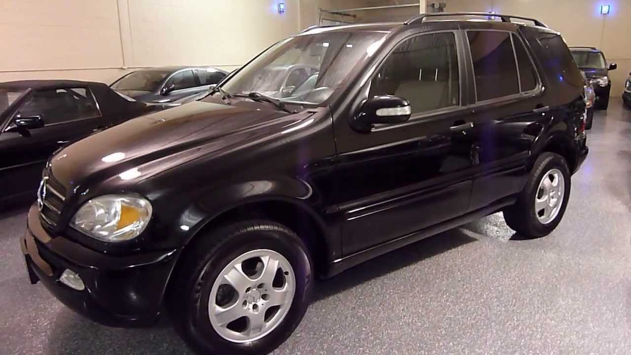 2003 mercedes benz ml350 4dr awd 3 5l sold 2331 plymouth mi 48170 youtube. Black Bedroom Furniture Sets. Home Design Ideas