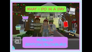 What I Do In A Day//Roblox Edition//BLOXBURG