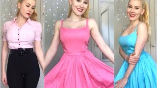 Pinup Girl Clothing Haul | Lots of pink