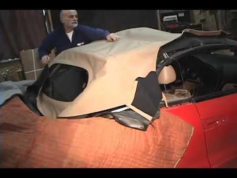 Mitsubishi Eclipse Installation Video Sample 1995 1999 Convertible Top Youtube