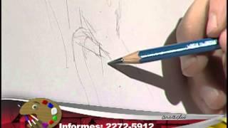 How to draw a fairy Godmother 1/ Cómo dibujar una hada madrina 1