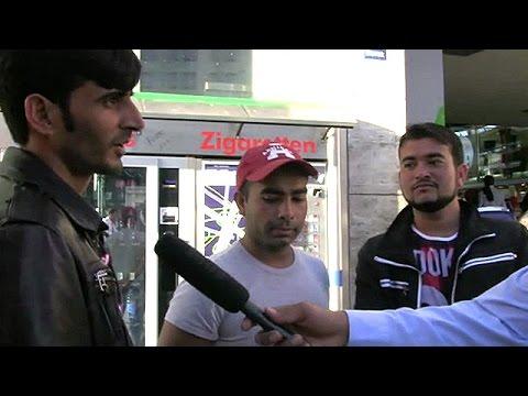 Pakistanis who seeking refuge in Europe.