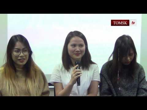 Giao lưu sinh viên mới  thành phố Tomsk 2016