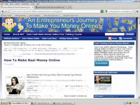 Make Money On The Internet Affiliate Marketing Mistakes To Avoid For Beginners