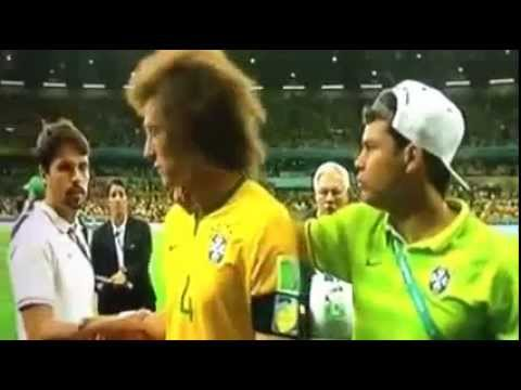 Brazil vs Germany 1 7 FIFA World Cup 2014 David Luiz Crying