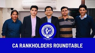 Rankholders Round Table Conference-CA Final-Nov 2018 Participants a...