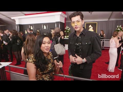 "[720P] 170213 59th Grammy Awards Red Carpet Interview - Kris Wu Talks ""Juice"" & upcoming English EP"