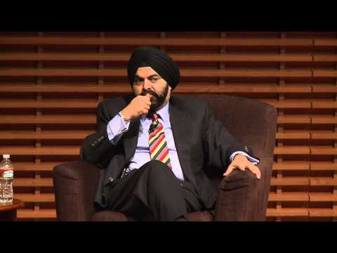 """Ajay Banga: """"You're Going to Get Stared At"""""""