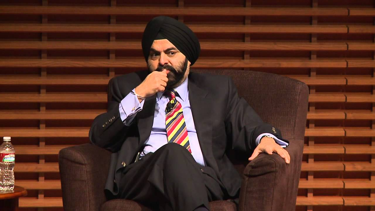 "Ajay Banga: ""You're Going to Get Stared At"" - YouTube"