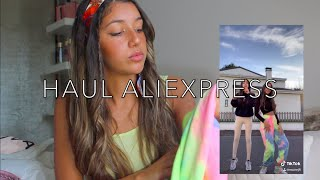 HAUL ALIEXPRESS + Conseils !