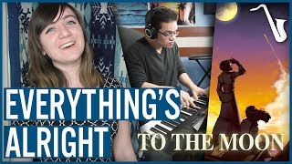 To The Moon: Everything's Alright Orchestral Arrangement || insaneintherainmusic