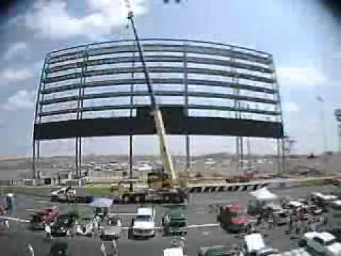 Charlotte Motor Speedway Time Lapse Video Cellular