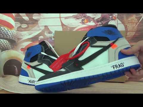Virgil Abloh x fragment design x Air Jordan 1 from gokicks.cn