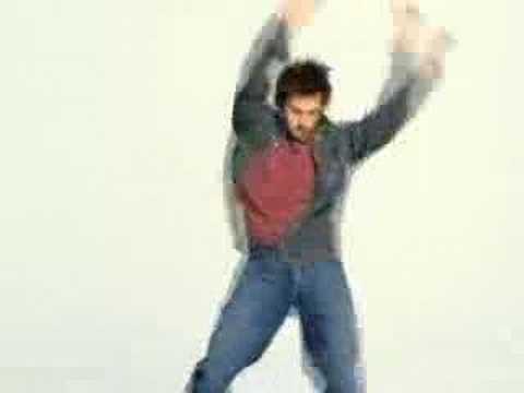 Dancer Will Kemp in 2002 Gap Ad