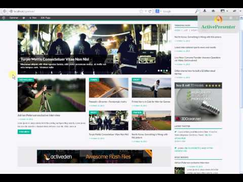 How to set up Gammar_ Magazine WordPress Theme ?