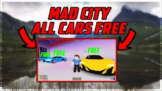 Roblox: Mad City GET ANY CAR FOR FREE OP