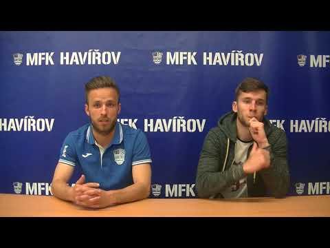 Pavel Zupko a Jan Klejnot po zápas MFK Havířov FK Jeseník