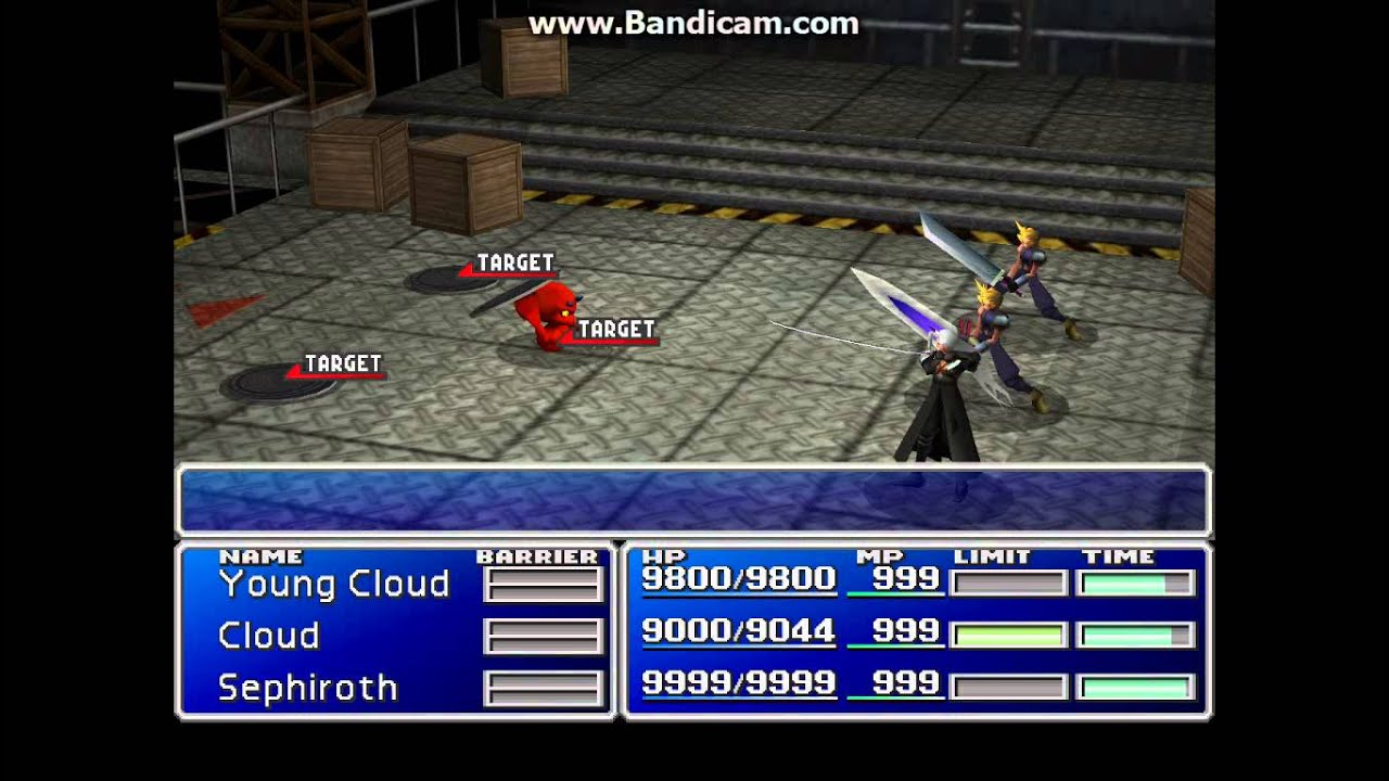 Final Fantasy 7 The Best Team Youtube
