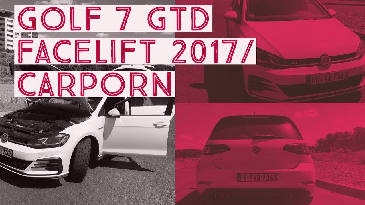 248bf6a3c0 Volkswagen Golf 7 GTD 2017 Facelift
