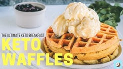 Easiest Keto Waffles Recipe - Actually Taste Like Real Waffles