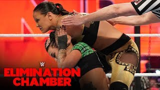 Shayna Baszler makes Riott and Logan tap out: WWE Elimination Chamber 2020 (WWE Network Exclusive)