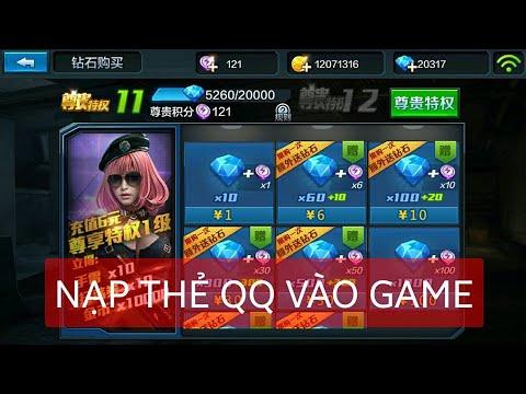 tai hack kim cuong chien dich huyen thoai - [CDHT] China Hướng dẫn nạp thẻ QQ vào game. Cho ae mới chơi.