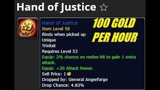 HOW TO: SOLO ANGERFORGE as a MAGE 95g gold per hour service guide