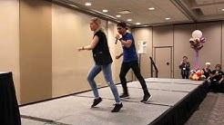 Dance Monkey Dance ~ Fiona & Roy taught @ 2019 Windy City ~ line dance