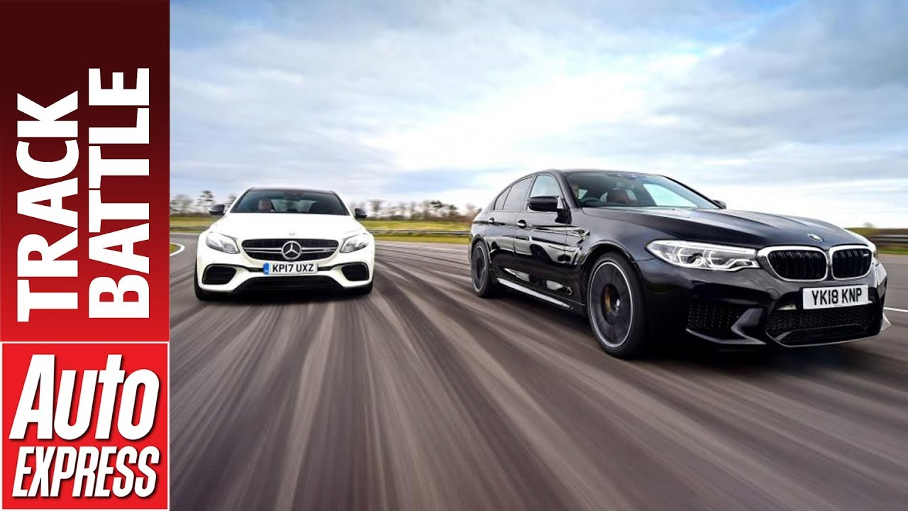 New Bmw M5 Vs Mercedes Amg E 63 S Which Is Fastest On Track Youtube