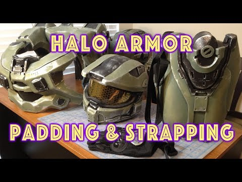 Strapping & Padding Your Halo Armor