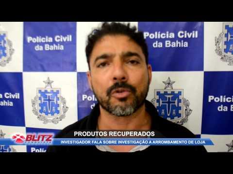 PC RECUPERA PRODUTOS ROUBADOS EM LOJA DE GRIFE