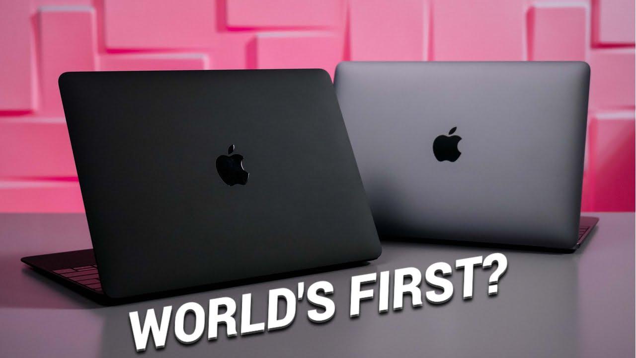 Meet the Matte Black MacBook