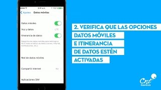 Configurar Internet APN 3G/4G LTE en iPhone (Cualquier País)